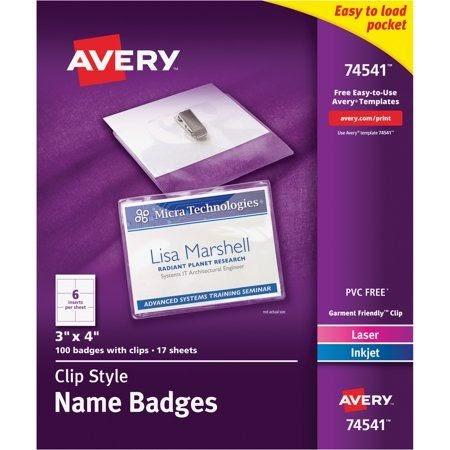 Avery Templates 74541
