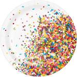 "Sprinkles Plate 7"" Lunch Plate (8)"