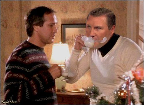 Dan Mullen as Cousin Eddie | TigerDroppings.com