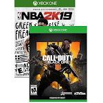 Call of Duty: Black Ops 4 Xbox One + NBA 2K Games19 Digital Game