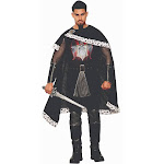 Adult Mens Dark Royalty Evil King Renaissance Medieval Kingdom Halloween Costume