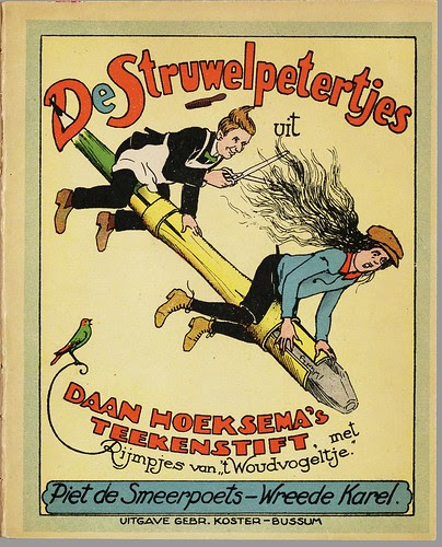 De Struwelpetertjes - Piet de Smeerpoets, De wreede Karel, illustrated by Daan Hoeksema, 1927