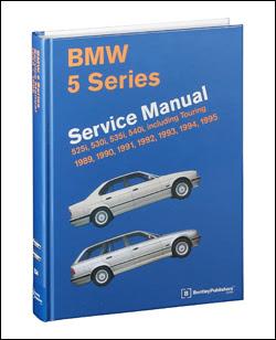 Bmw Repair Manual 5 Series E34 1989 1995 Bentley Publishers Repair Manuals And Automotive Books