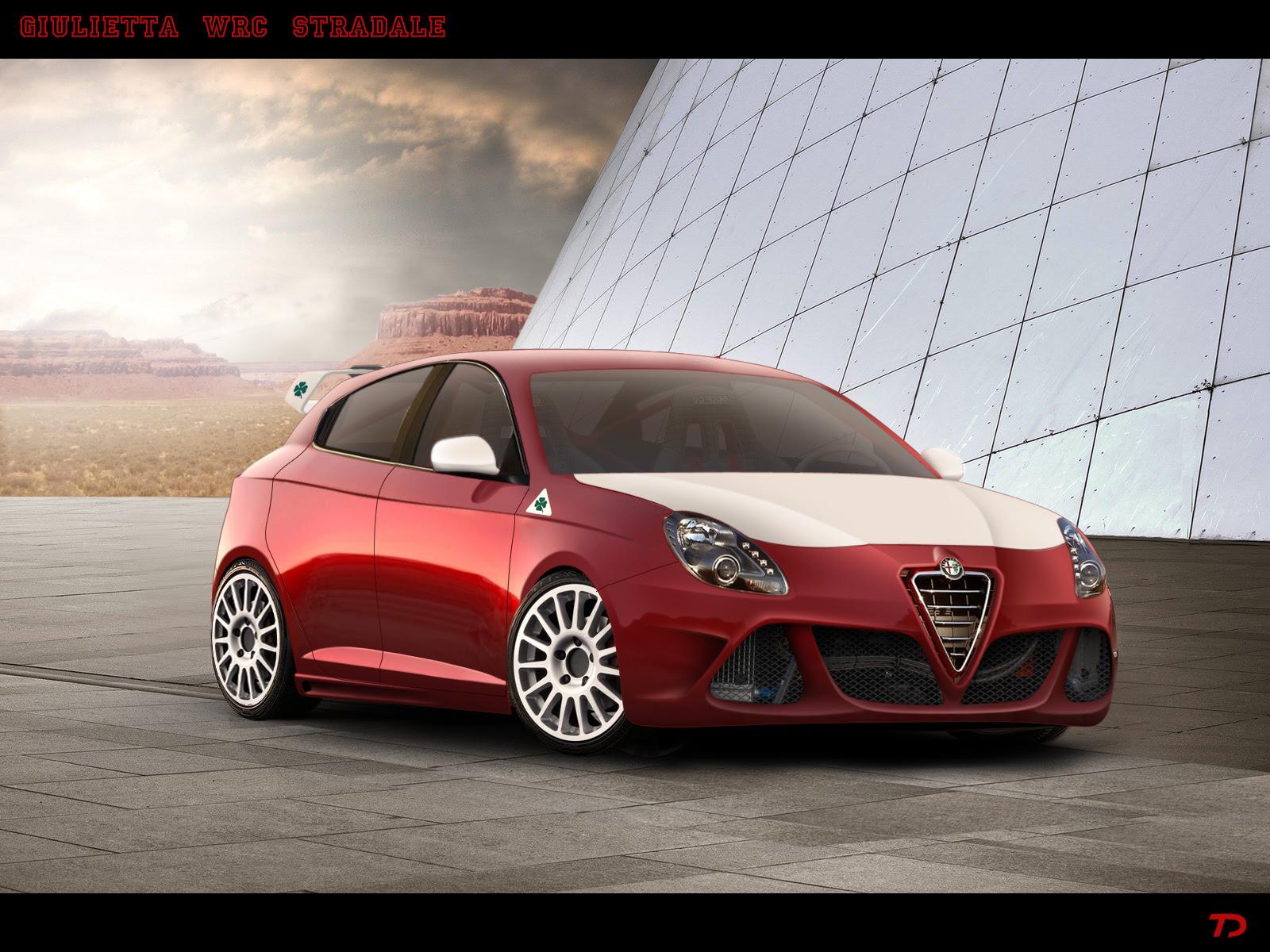 Alfa Romeo Giulietta WRC Stradale by TeofiloDesign on DeviantArt
