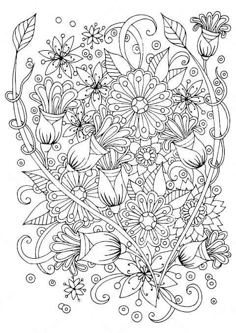 Beautiful Zentangle Coloring Pages