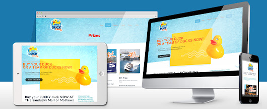 Cedar Point Shores United Way Duck Derby Website - Crabtree Marketing