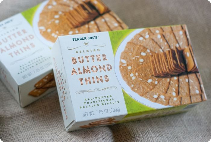 trader joe's butter almond thins review