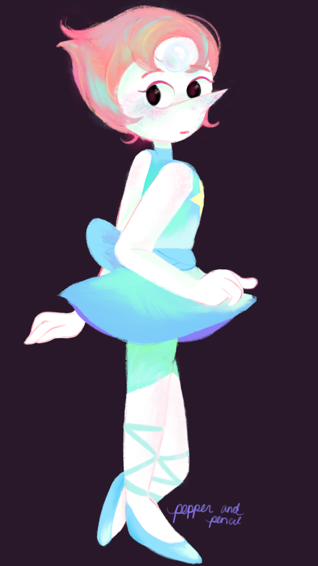 dainty and iridescent - slightly different costume ?