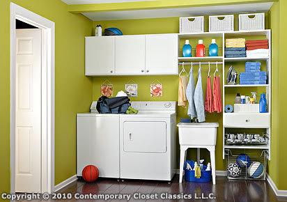 Organized Laundry Room - Laundry Room Ideas