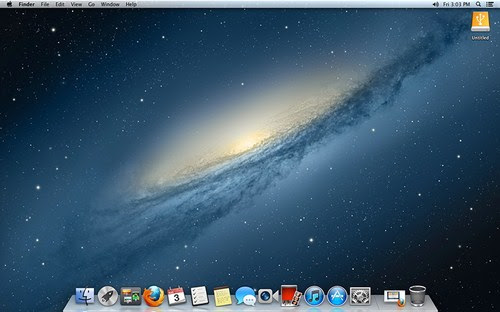 Mac OS X v10.8 (Mountain Lion)