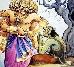 Art Of Ramayan - ISKCON desire tree 018