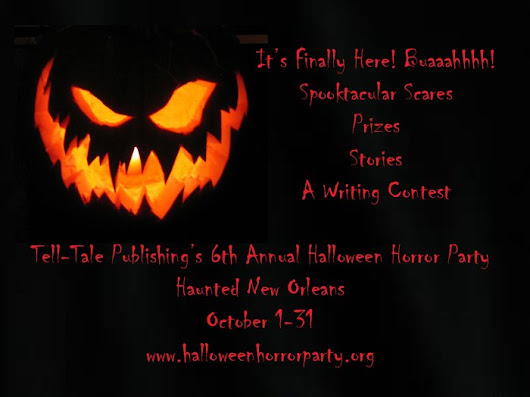 "Tell-Tale Publishing on Twitter: ""#Halloween2016  It's Finally Here! @TellTalePub Our 6th Annual #HalloweenHorrorParty  #HauntedNewOrleans   """