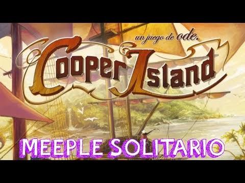 🐶 Cooper Island🏝️ | Partida | Meeple Solitario