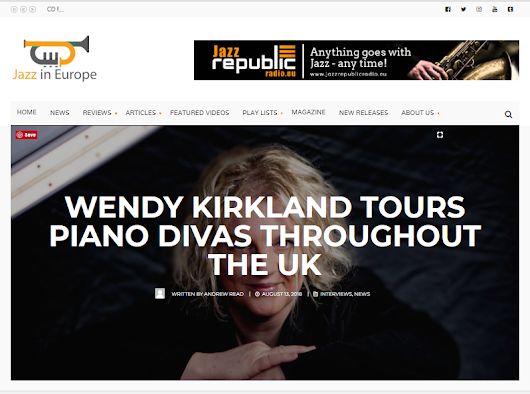 Jazz in Europe joins Piano Divas promotional campaign