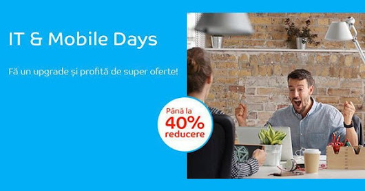 eMAG Mobile IT Days aduce reduceri pana la 40% in februarie