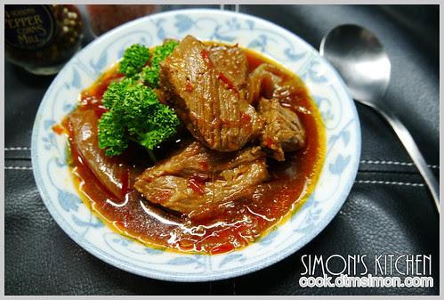 辣豆瓣燒牛肉04
