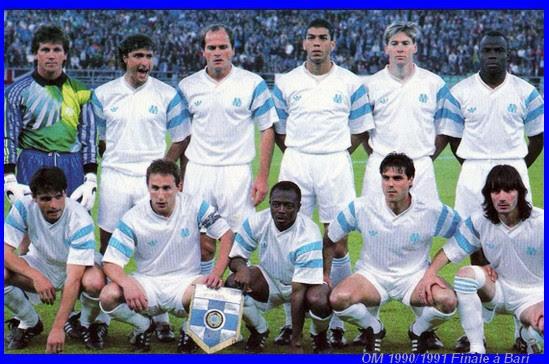 Olympique De Marseille Saison 1990 1991 La Finae De Bari