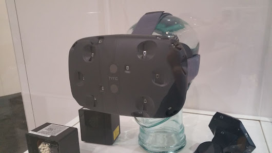 Dev kits for Valve's first SteamVR headset, the HTC Vive, to be free for select developers