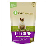 Pet Naturals of Vermont L-Lysine Chews for Cats, Chicken Liver - 60 count