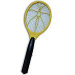 Miles Kimball Electronic Bug Zapper Racket, Yellow