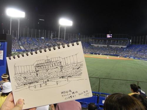 神宮球場 2012/9/15 その2 by Natsumi Tsuchida