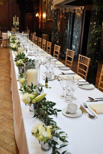 top table garland foasztal   wedding flowers