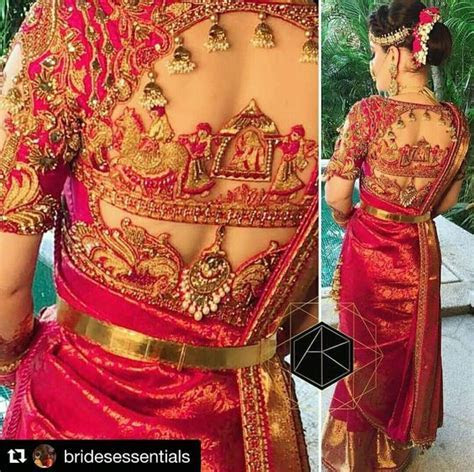 Bridal blouse design collections for wedding   K4 Fashion