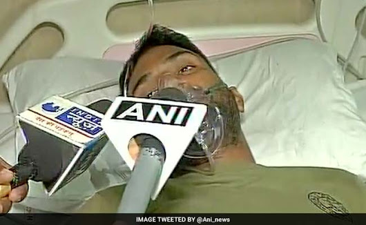 300 Naxals, Armed With AK 47s, Attacked Us, Says Injured Jawan Sher Mohammad