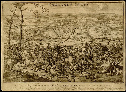 A View and Representation of the Battle of Belgrade, 1717 by I Carnitham (England's Glory)