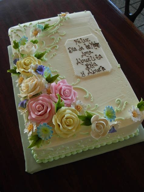 Floral sheet cake    cakes in 2019