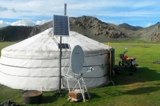 70% of Mongolian nomads now have solar power