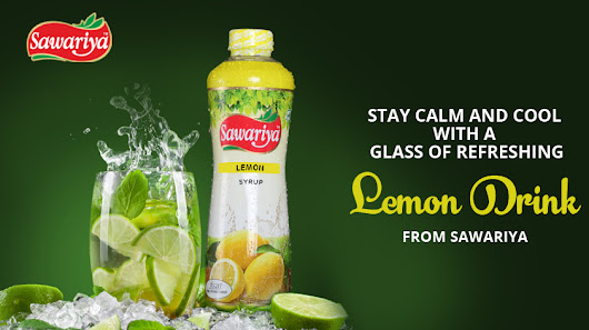 Stay cool with a glass of refreshing Lemon Drink by Sawariya