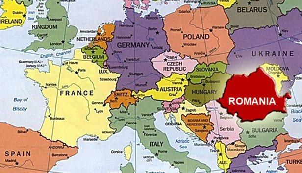 Image result for romania pe harta europei
