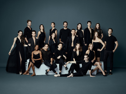 Les Grands Ballets de Montreal 2017-18 Company Shoot.