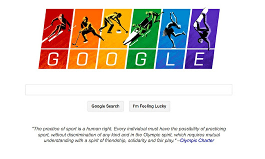 Olympic charter features on Google as it enters row over Russian anti-gay laws
