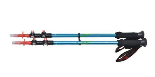 Mountaintop [2-Pack] 3-Section Retractable Lightweight Trekking Poles Review