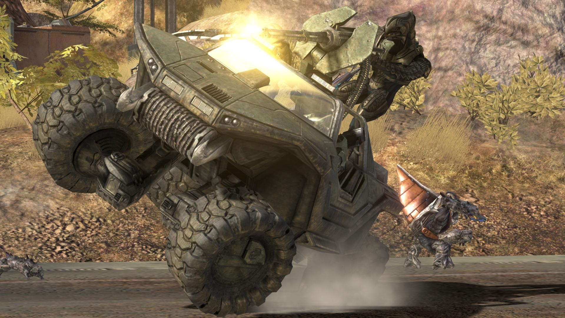 Download Wallpapers Download Halo Master Chief Warthog Unggoy