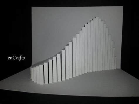 Wave Origamic Architecture Pop Up Card