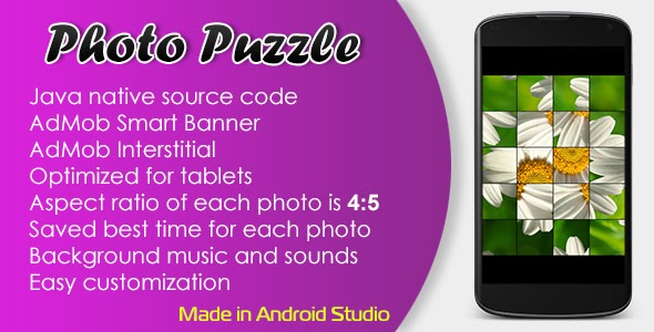CodeCanyon - Photo Puzzle Game with AdMob