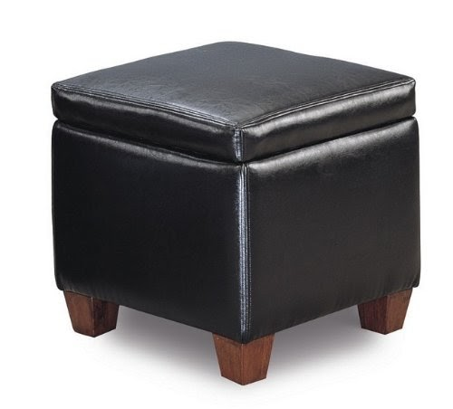 cheap ottomans and footstools rating review black