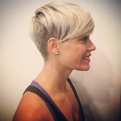 Shaved  Hairstyles  For Women  Short  Haircuts  2019 image