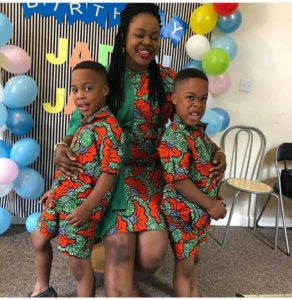 Photos From Actress Taiwo Aromokun's Identical Twins 5th Birthday Celebration