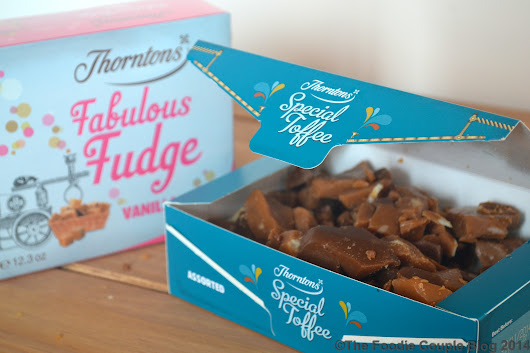 Product Review: Thorntons Hampers & Personalised Continental Selection