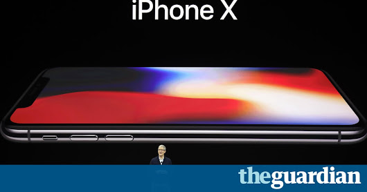 Apple event: iPhone X, 8 and 8 Plus release dates revealed – live updates | Technology | The Guardian