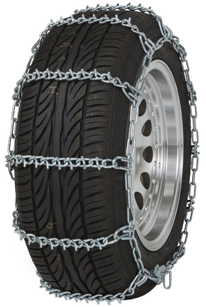 155 80r15 Tire Chains V Bar Link Snow Traction