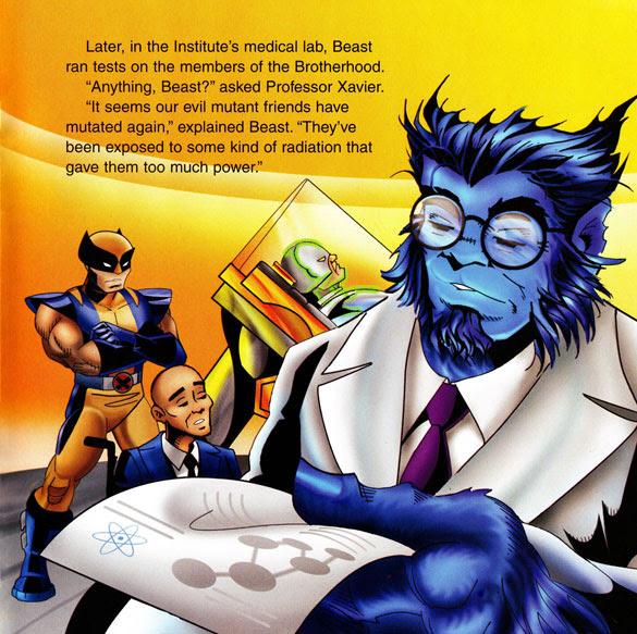X-Men: The Brotherhood of Monsters