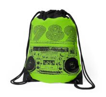 1982 Drawstring Bag - Lime Green