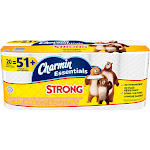 Charmin Essentials Strong Giant - Toilet paper - 300 sheets - roll (pack of 20)