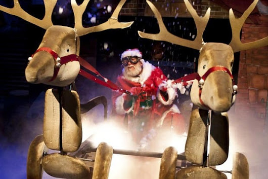 'Father Christmas' at the Lyric Theatre in Hammersmith - Review - International Elf Service