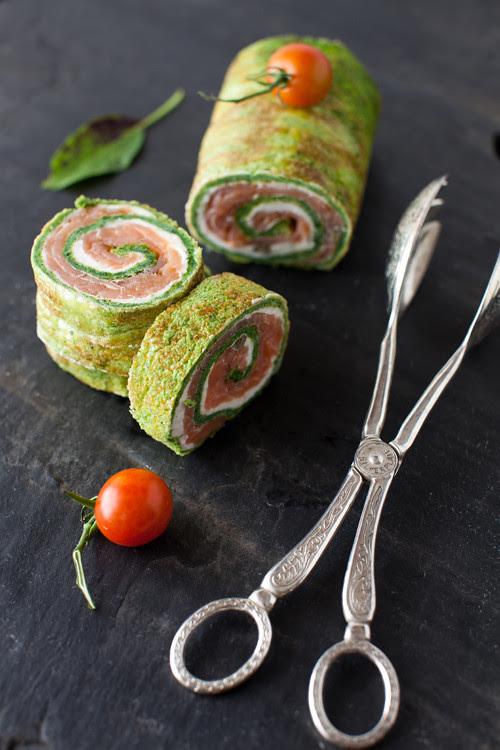 Salmon Roll 3